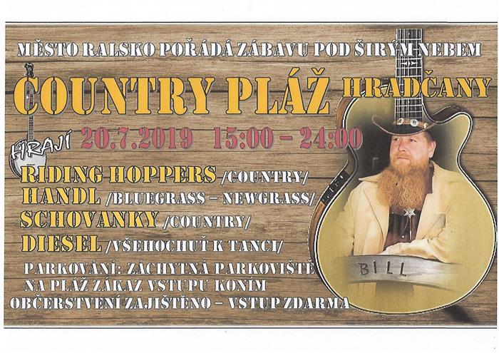 Pozvánka na country zábavu