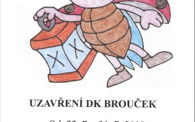 Uzavření DK Brouček
